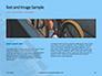 Closeup Mountain Bike Wheel Presentation slide 14