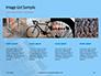 Closeup Mountain Bike Wheel Presentation slide 16