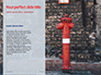 A Deep Red Fire Hydrant in Front of a Wall Presentation slide 9