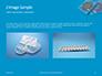 Two Condom Packs on a Blue Background Presentation slide 11