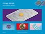 Two Condom Packs on a Blue Background Presentation slide 13