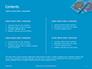 Two Condom Packs on a Blue Background Presentation slide 2