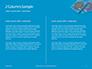 Two Condom Packs on a Blue Background Presentation slide 5