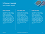 Two Condom Packs on a Blue Background Presentation slide 6