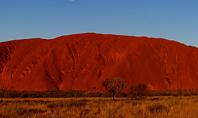 Uluru Ayers Rock by Sunset Presentation Presentation Template