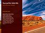 Uluru Ayers Rock by Sunset Presentation slide 9