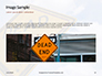 Dead End Sign Against Blue Cloudy Sky Presentation slide 10