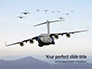 United States Air Force C-17 Globemaster in the Sky Presentation slide 1