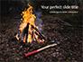 Burning Firewoods with Ax Presentation slide 1