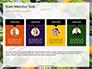 Frame of Green Organic Vegetables on Wooden Surface Presentation slide 18