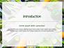 Frame of Green Organic Vegetables on Wooden Surface Presentation slide 3