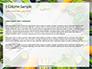 Frame of Green Organic Vegetables on Wooden Surface Presentation slide 4