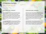 Frame of Green Organic Vegetables on Wooden Surface Presentation slide 5