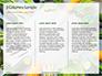 Frame of Green Organic Vegetables on Wooden Surface Presentation slide 6
