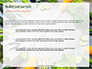 Frame of Green Organic Vegetables on Wooden Surface Presentation slide 7