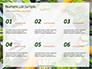 Frame of Green Organic Vegetables on Wooden Surface Presentation slide 8