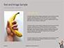 Man in a Suit Holding Banana Like a Gun Presentation slide 15