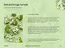 Broccoli on Green Background Presentation slide 15