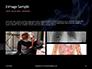 Burning Cigarette with Smoke on Black Background Presentation slide 12