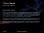Burning Cigarette with Smoke on Black Background Presentation slide 4