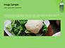Silver Fork on Green Background Presentation slide 10
