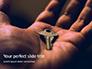 Key in Open Hand Palm Presentation slide 1