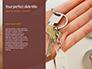 Key in Open Hand Palm Presentation slide 9