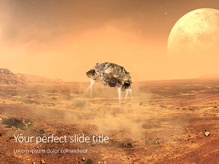 Mars Exploration Presentation Presentation Template, Master Slide
