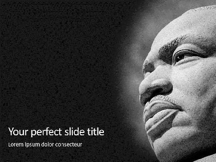 Martin Luther King Memorial Presentation Presentation Template, Master Slide