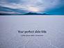 Uyuni salt Flats in Bolivia Presentation slide 1