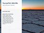Uyuni salt Flats in Bolivia Presentation slide 9