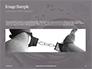 Sliver Handcuffs Lying on Top of Fingerprint Sheets Presentation slide 10