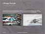 Sliver Handcuffs Lying on Top of Fingerprint Sheets Presentation slide 11