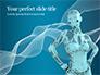 3D Rendering of a Female Robot Presentation slide 1