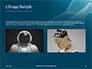 3D Rendering of a Female Robot Presentation slide 11