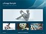 3D Rendering of a Female Robot Presentation slide 13