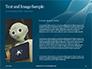 3D Rendering of a Female Robot Presentation slide 15