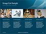 3D Rendering of a Female Robot Presentation slide 16