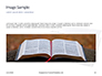 Holy Bible with Rosary Beads Presentation slide 10
