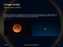 The Moon Covers the Sun in a Beautiful Solar Eclipse Presentation slide 11