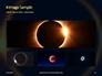 The Moon Covers the Sun in a Beautiful Solar Eclipse Presentation slide 13