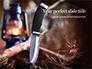 Hunting Knife and Kerosene Lamp Presentation slide 1