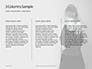Back of a Female Hugs Herself Presentation slide 6