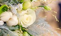 Beautiful Wedding Bouquet of Flowers of the Bride Presentation Presentation Template