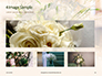 Beautiful Wedding Bouquet of Flowers of the Bride Presentation slide 13