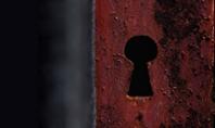 Keyhole in a Rusty Gate Presentation Presentation Template
