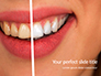 Woman Teeth Before and After Whitening Presentation slide 1