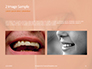 Woman Teeth Before and After Whitening Presentation slide 11