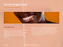 Woman Teeth Before and After Whitening Presentation slide 14