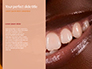 Woman Teeth Before and After Whitening Presentation slide 9